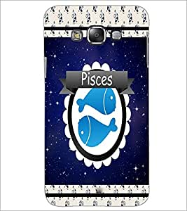PrintDhaba Zodiac Pisces D-2771 Back Case Cover for SAMSUNG GALAXY A8 (Multi-Coloured)