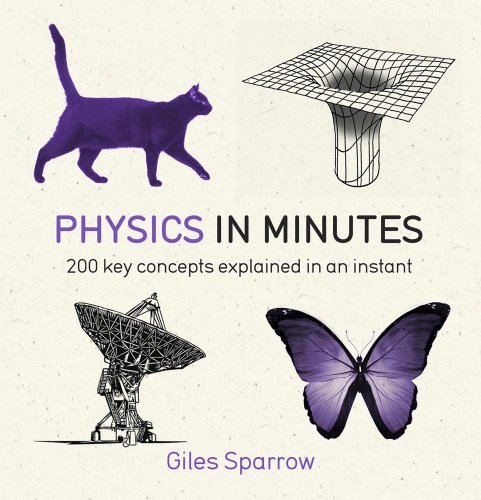 Physics in Minutes: 200 Key Concepts Explained in an Instant by Sparrow, Giles (January 30, 2014) Paperback