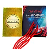 5 pulseras de cadena de Kabbalah rojas bendecidas en Jerusalén con sello de fertilidad King Solomon Amuleto