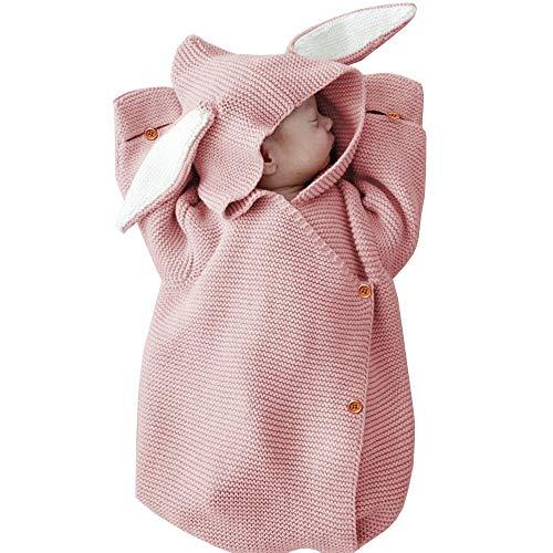 LAYBAY Neugeborenes Baby Schlafsack, gestrickte Decke, Baby gestrickte Decke, Wollteppich, Fußmatte Matte, häkeln Kleidung, Baby Paket, Fotografie Requisiten