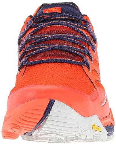 MerrellAll Out Peak - Scarpe Running uomo Arancione (Orange (Spicy Orange/Astral Aura))