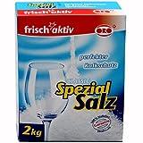 ORO-frisch-aktiv® Spezial-Salz Classic - feinkörnig - 2 kg - 6 Packungen - 1 Karton