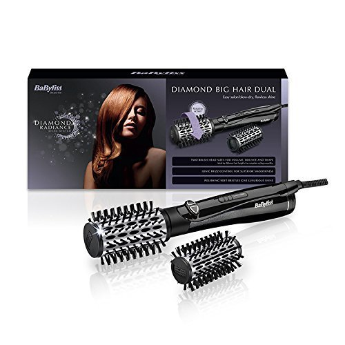 diamond dual big hair - 51lqJLhzn L - BaByliss Diamond Dual Big Hair Hot Air Styler
