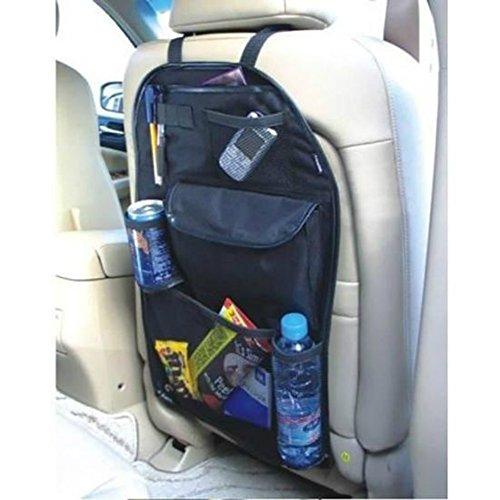 Sede accesorio coche–Funda Asiento Auto Sede–Almacenamiento, protección y organización trasera de asiento auto–tamaño Universal (60x 39cm)