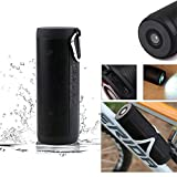 QAZWSX Bluetooth Lautsprecher Wasserdicht Im Freien, FM Radio IP67 Wasserdichte Super Bass Musik Sound Box Unterstützung TF Crad