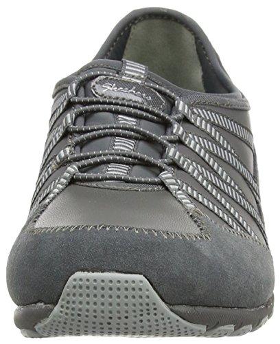Skechers ConversationsDebate, Sneakers basses femme Gris - Grau (Ccgy)
