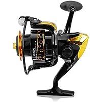Techmax CNC manico pieghevole pesca Spinning Reel per 20003000400050006000serie, AD2000