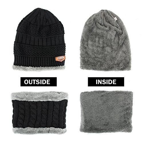 Zoom IMG-1 runfon cappello e sciarpa uomo