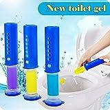 Carremark 3PCS Gel detergente per Capelli Senza Contatto 3 Color Clean disinfettante per WC con Fiori