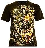 Caribbean Pirates Herren T-Shirt Glow in The Dark