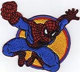Ecusson thermocollant Action Spiderman Marvel Comics