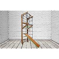 Construcción robusta! Zona de juegos de madera para interior KN-03-220 Escalera sueca Complejo deportivo de gimnasia