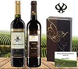 Geschenk Sortiment Rotweine Spanien 2er Geschenk Set, elegance