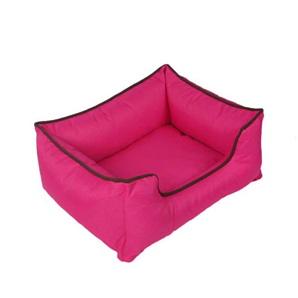 &liyanan Pet Orthopedic Bed Lounge Sofa House for Small Medium Large Dogs Cats,Removable&Washable Cover/Zippers-Four…