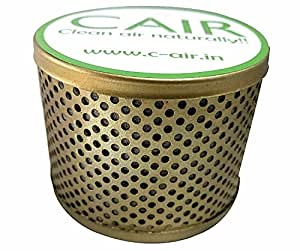 Cair Car Air Purifier and Odour Remover (Medium, Gold)