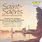 Saint-Saens: Complete Works For Violin & Orchestra/... by Camille Saint-Saens (1993-06-09)
