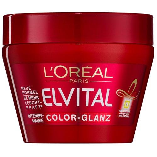 L'Oréal Paris Elvital Color-Glanz Tägliche Pflegekur, 300 ml
