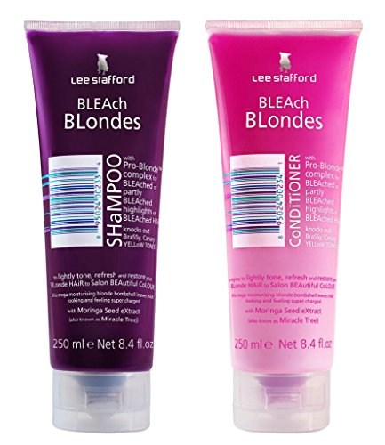 Lee Stafford Bleach Blonde Shampoo & Conditioner Duo 2 x 250ml