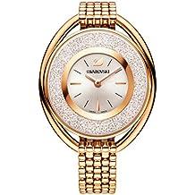 Swarovski Crystalline Oval Rose Gold Tone Pulsera Watch