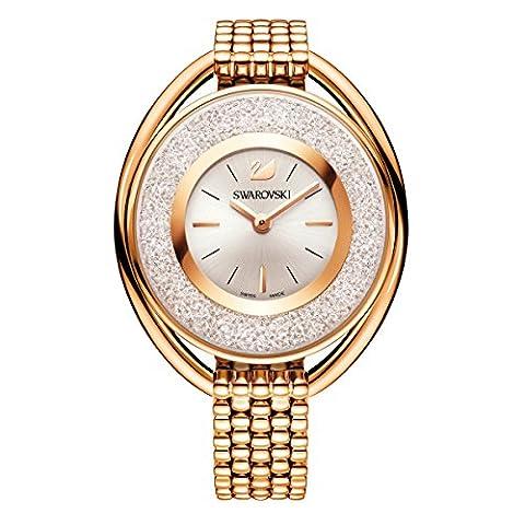 Swarovski Crystalline Oval Rose Gold Tone Armband (Elegante Rosen-seife)