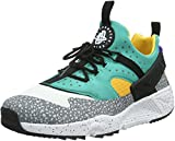 Nike Air Huarache Utility Premium, Baskets Basses Homme, Blanc (White/Blue/Green),...