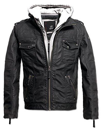 ZBED Brandit Black Rock Jacke Grau XXL