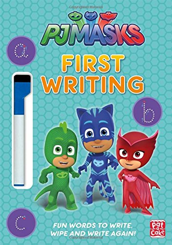 First Writing Wipe Clean: Get ready to write with the PJ Masks!