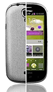 Skinomi® TechSkin - Samsung Galaxy Stratosphere II Screen Protector + Brushed Aluminum Full Body Skin / Front & Back Premium HD Clear Film / Ultra High Definition Invisible & Anti Bubble Shield