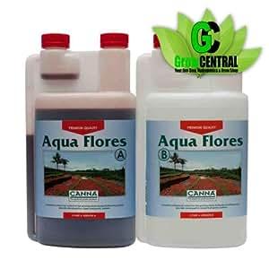 Canna Nutrients - Aqua Flores A & B 1 ltr