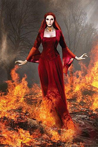 empireposter 747051Liliana Sanches-prie stress Of Fire-Fantasy gotico Stampa Poster, Carta, Multicolore, 91,5x 61x 0,14cm