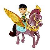 Disney Princess - Sofia die Erste - Set Puppe James & Fliegendes Pferd Echo