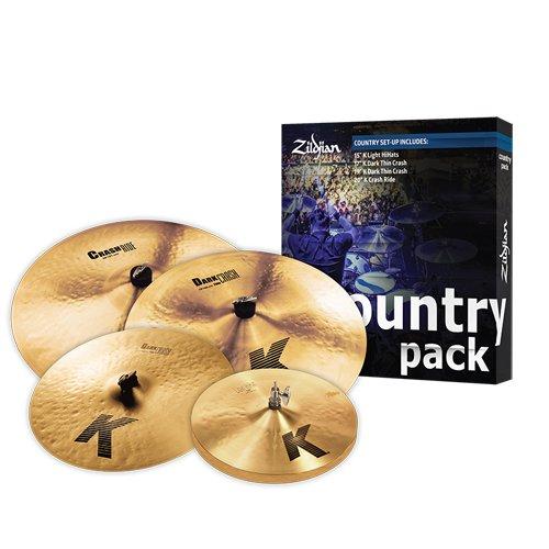 Zildjian 5 K Country - Set di Piatti per Batteria
