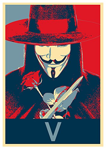 Instabuy Posters V for Vendetta Propaganda V - A3 (42x30 cm)