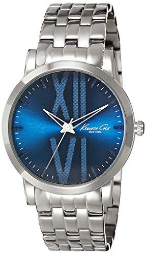 Kenneth Cole New York Men's 10014812 Classic Analog Display Japanese Quartz Silver Watch