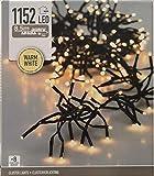 1152 LED CLUSTERLICHTERKETTE WARMWEISS