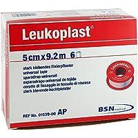 Leukoplast Pack 6Wundpflaster Rudavlies gewebt, die Zirkonia Zink-920cm x 5cm preisvergleich bei billige-tabletten.eu