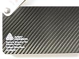 Avery Supreme Wrapping Film Serie Schwarz 3D Carbon große Struktur gegossene Autofolie 400 x 152 cm Zuschnitt