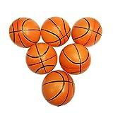 Palline spugna bambini TOYMYTOY Mini palla basket morbida per giochi e giocattoli bambini di 10 cm 6PCS