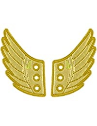 Shwings Windsor Foil Lace In Wings For Shoes (Gold)