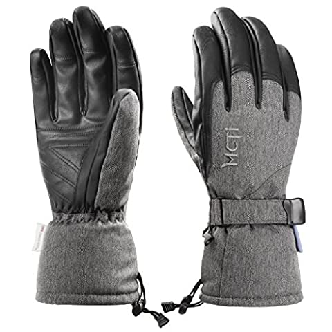 MCTi Waterproof Thermal Winter Ski Snowboard Climbing Hiking Gloves 150g 3M Thinsulate Insulation Breathable