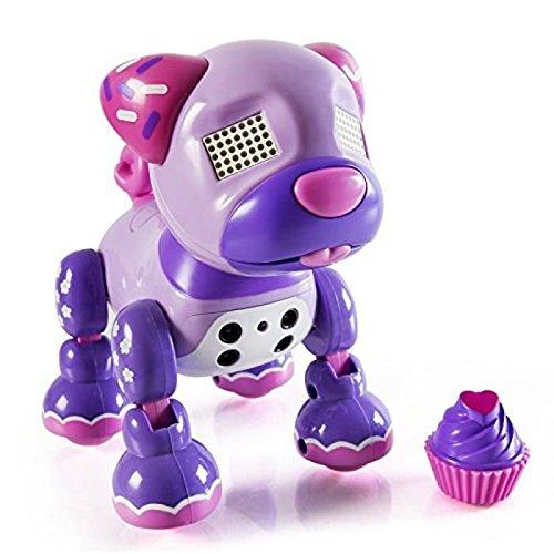 ZOOMER Robot Chien Zuppies Love Cupcake Spinmaster