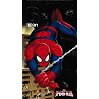Ultimate Spider-man Age 6 Birthday Card