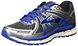 Best Brooks Running Shoes - Brooks Men's Adrenaline GTS 17 Anthracite/Eletric Brooks Blue/Silver Review