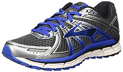 Brooks Men's Adrenaline Gts 17 Running Shoes, Grey (Anthracite/electricbrooksblue/Silver), 6 UK