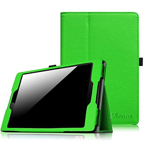 Fintie HTC Nexus 9 Folio Hülle Case - Slim Fit Kunstleder Schutzhülle Tasche Etui Cover mit Standfunktion und [Auto Sleep/Wake] Funktion for HTC Nexus 9 (8,9 Zoll) Tablet-PC by Google, Grün