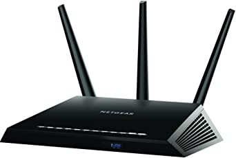 NETGEAR Nighthawk AC1900 Dual Band WiFi Gigabit Router (R7000) with Open Source Support | Circle with Disney Smart Parental Controls | Compatible with Amazon Echo/Alexa (Indian Adpater)