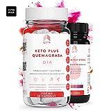 Keto Plus Quemagrasas DIA 2-EN-1 (60 capsulas), Quemagrasas potente para adelgazar, Pastillas para...