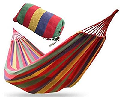 Red Outdoor Garden Camping Patio Beach Travel Hammock Swing Chair Bed(OD0006)