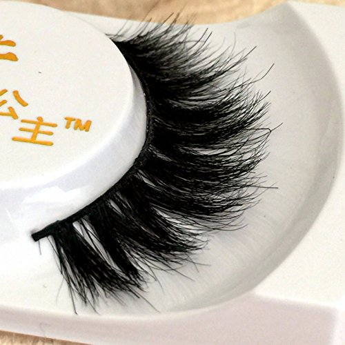 a728a42826d Dollbaby London Faux 3D Mink Eyelashes Triple Layered | Cruelty Free |  Reuseable Wispie False Lashes Wispy With Lilly Thin Natural Curved Band