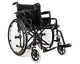 Fauteuil roulant pour personnes handicapées, avec mains courantes, modèle B, pliable